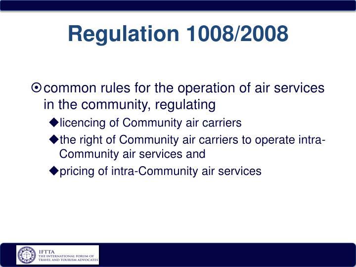 Regulation 1008/2008