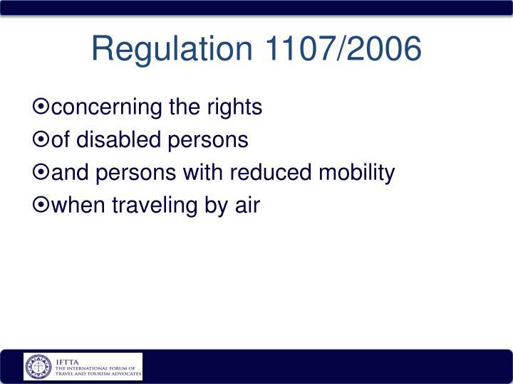 Regulation 1107/2006