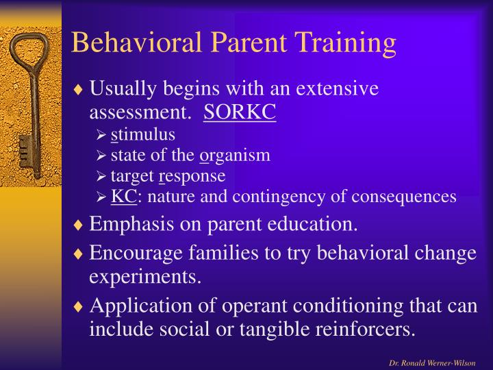 Behavioral Parent Training