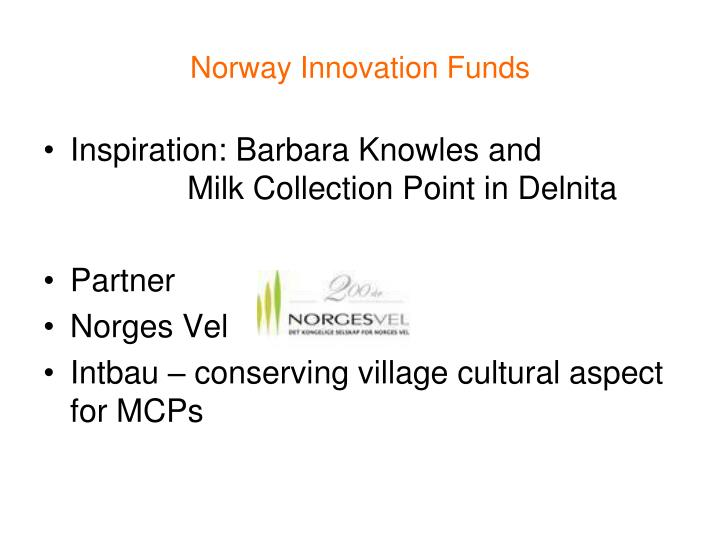 Norway Innovation Funds