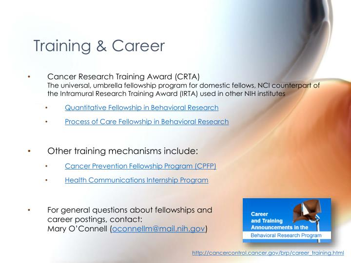 Training & Career