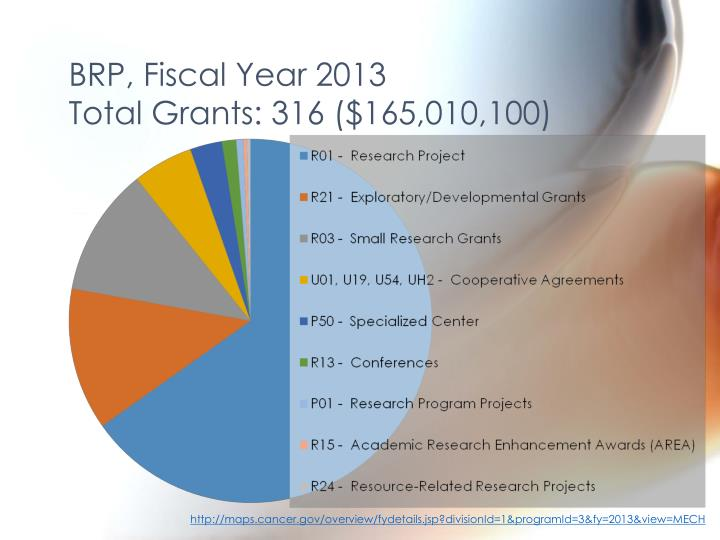 BRP, Fiscal Year 2013