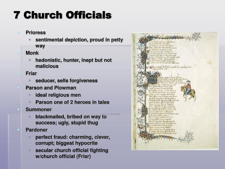 7 Church Officials