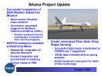 ikhana project update