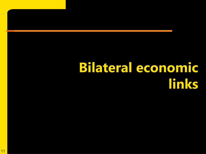 Bilateral economic links