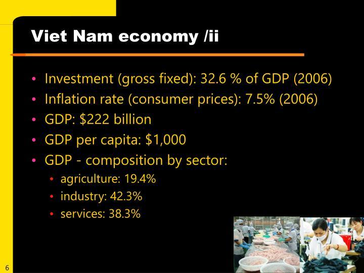 Viet Nam economy /ii
