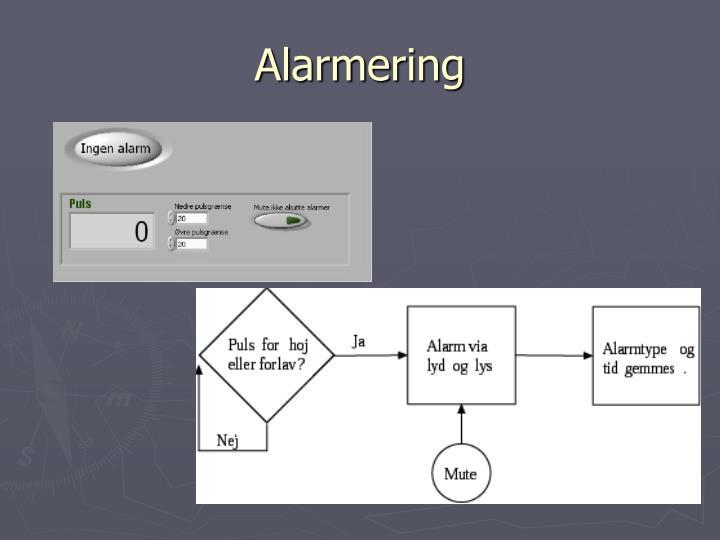 Alarmering