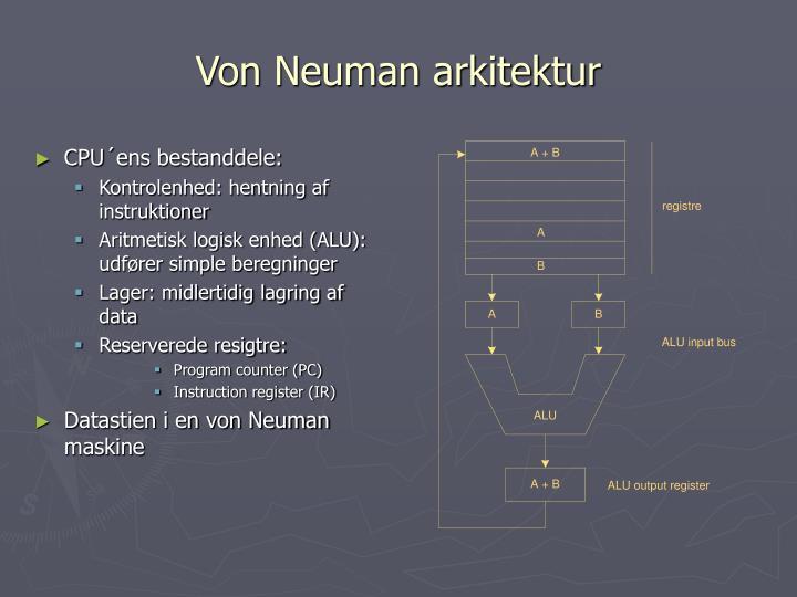 Von Neuman arkitektur