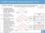 a bluffer s guide to drawing carpet plots 1 3