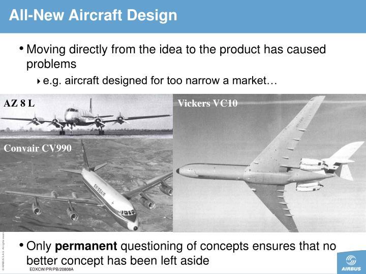 All-New Aircraft Design