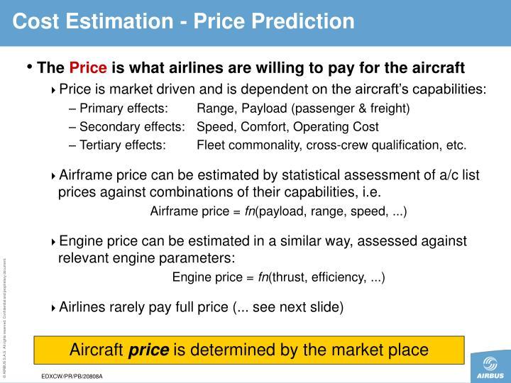 Cost Estimation -
