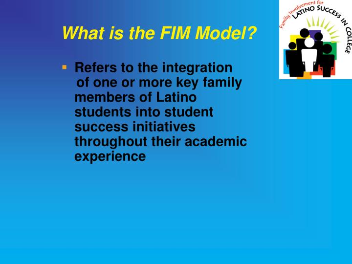 What is the FIM Model?
