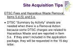site acquisition tips2