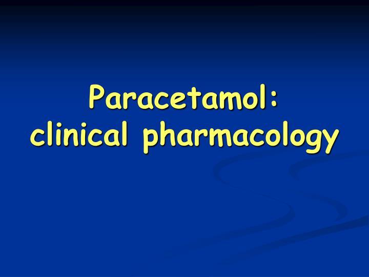Paracetamol: