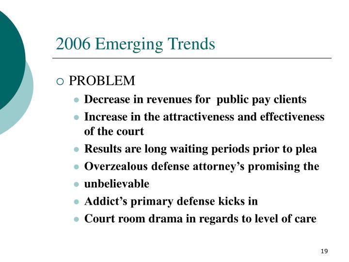 2006 Emerging Trends