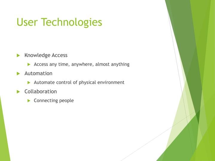 User Technologies