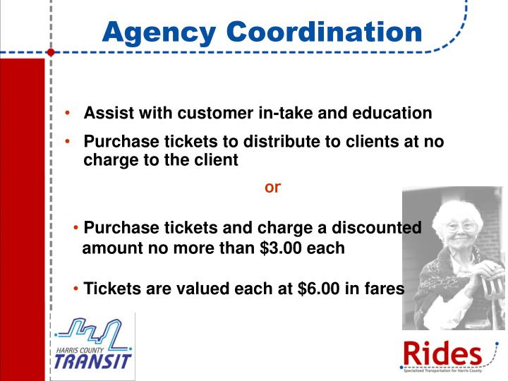 Agency Coordination
