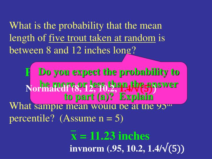 P(8< x <12) = .9978