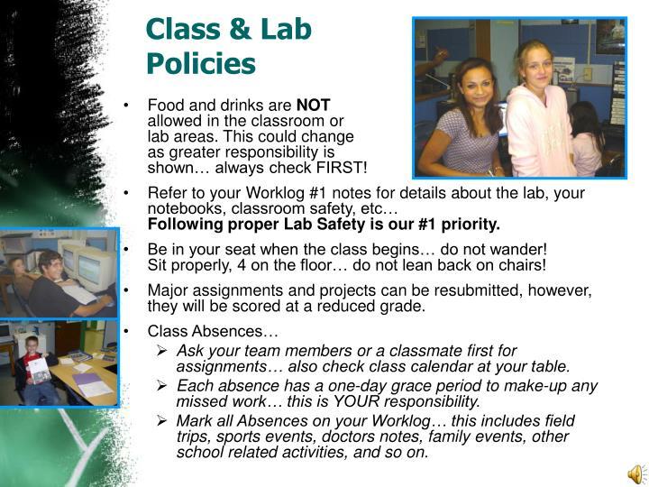 Class & Lab