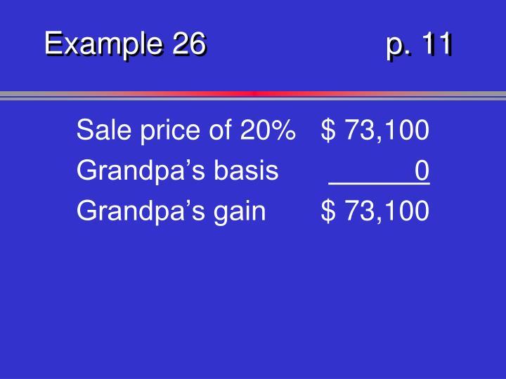 Example 26p. 11