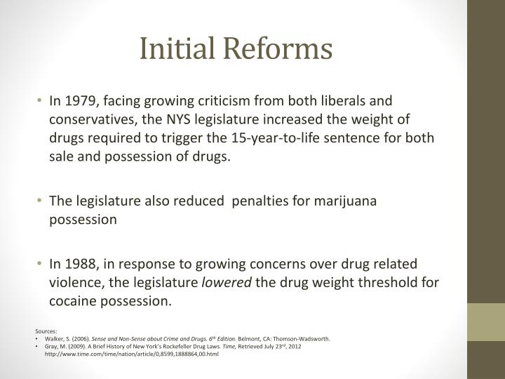 Initial Reforms