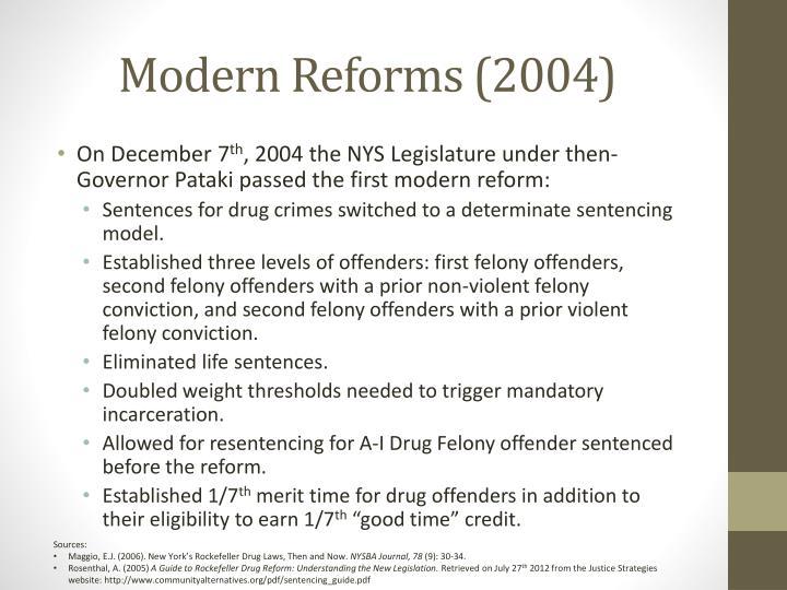 Modern Reforms (2004)