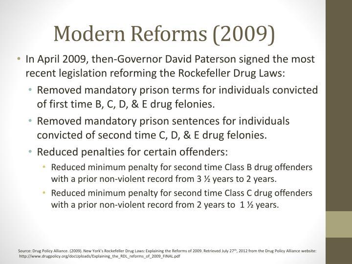 Modern Reforms (2009)