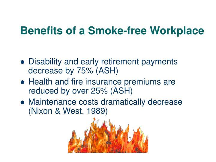 Benefits of a Smoke-free Workplace