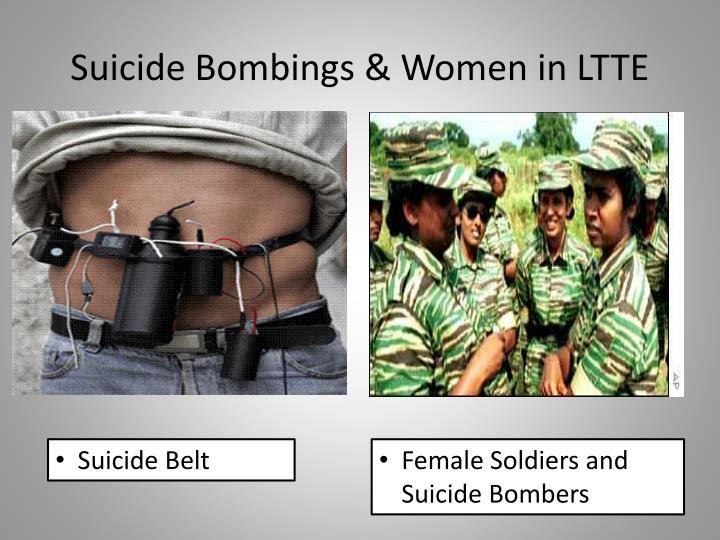 Suicide Bombings & Women in LTTE