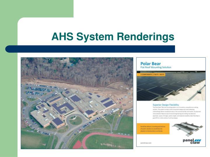 AHS System Renderings