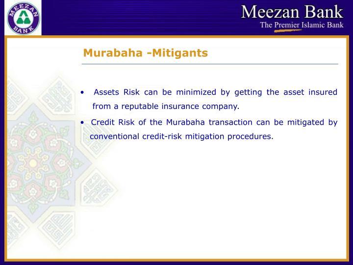 Murabaha -Mitigants