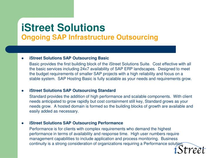 iStreet Solutions