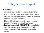 antihypertensive agents18