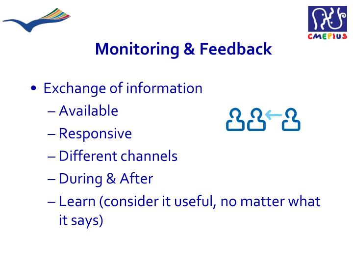 Monitoring & Feedback