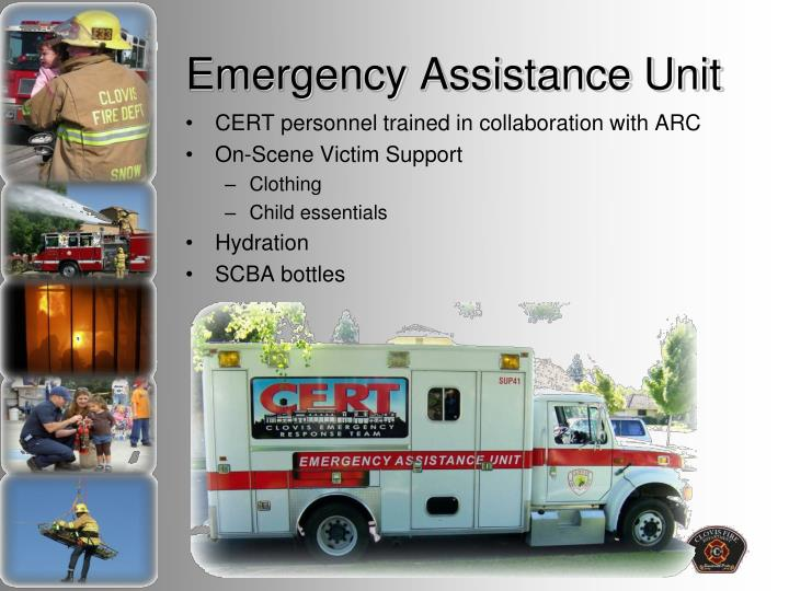 Emergency Assistance Unit