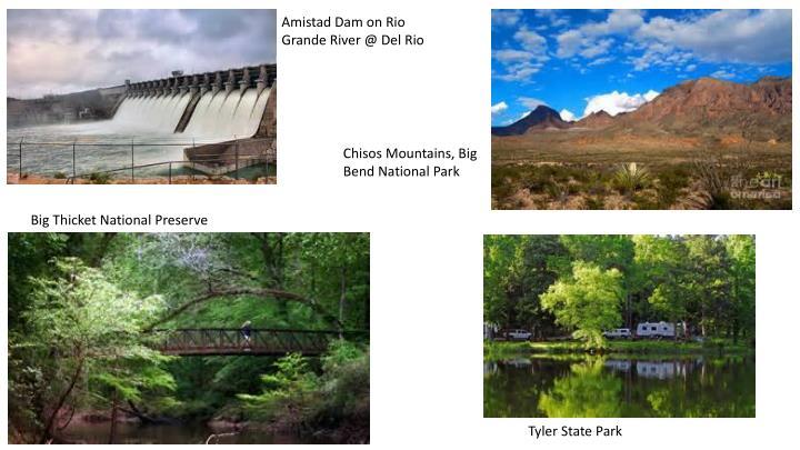 Amistad Dam on Rio Grande River @ Del Rio
