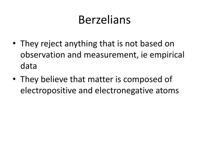 Berzelians