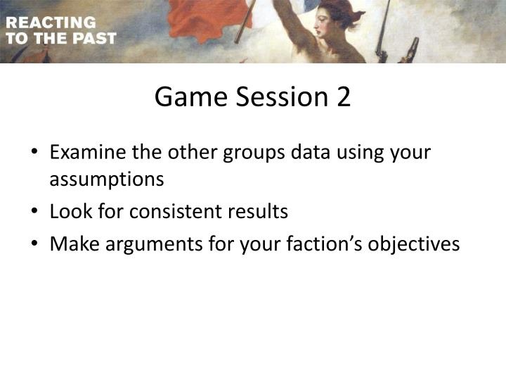 Game Session 2