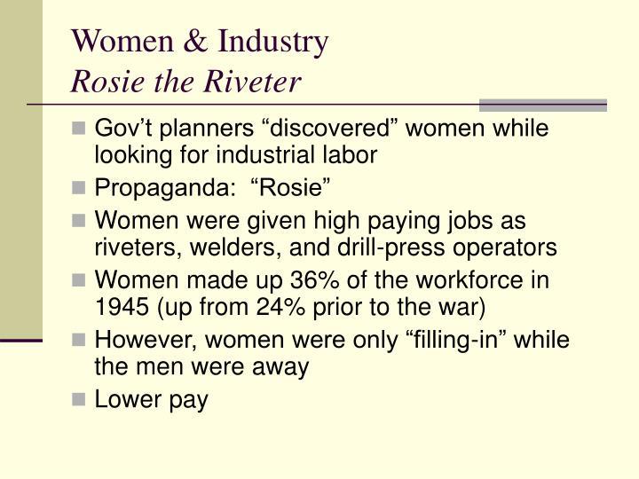 Women & Industry