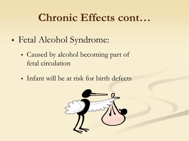 Chronic Effects cont…