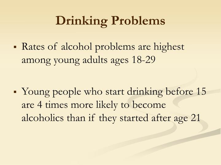 Drinking Problems