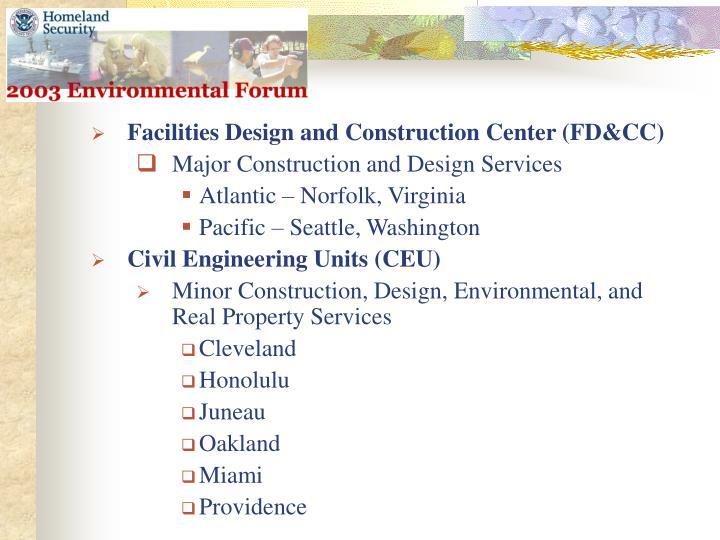 Facilities Design and Construction Center (FD&CC)