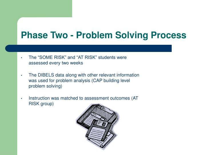 Phase Two - Problem Solving Process