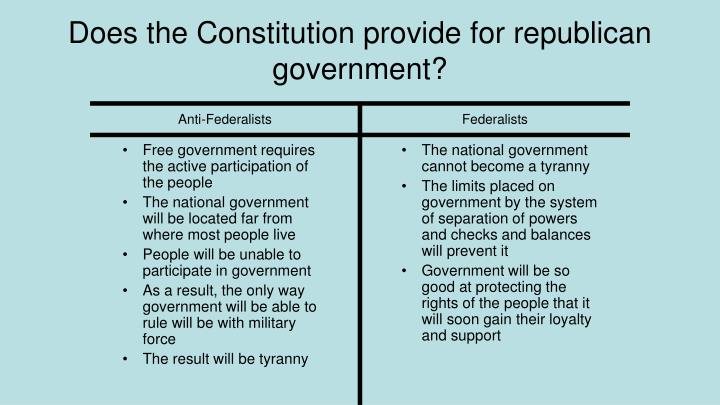 Free government requires the active participation of the people