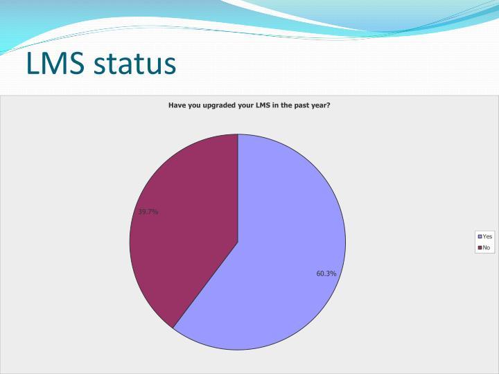 LMS status