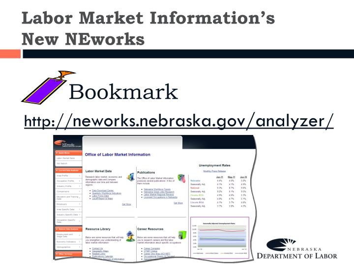 Labor Market Information's New NEworks