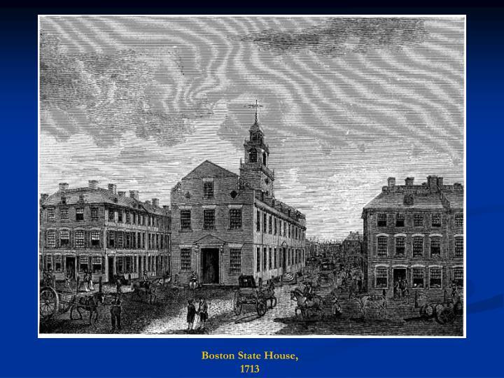 Boston State House, 1713
