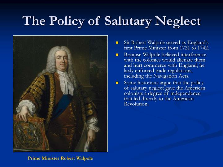 The Policy of Salutary Neglect