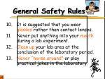general safety rules3