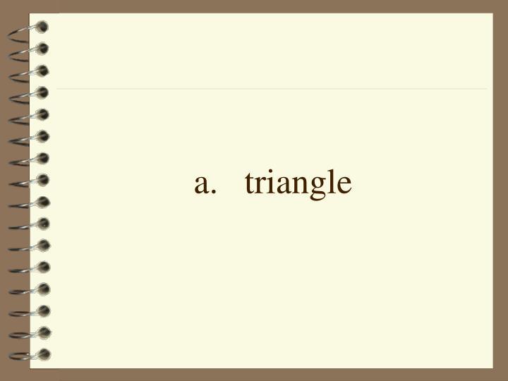 a.triangle